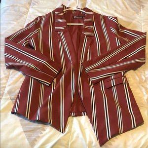 Stripled blazer